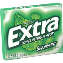 Extra Spearmint Sugarfree Chewing Gum