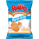Ruffles Cheddar & Sour Cream Family Size Potato Chips