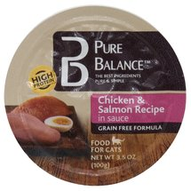 Pure Balance Chicken/Salmon Canned Cat Food Cup
