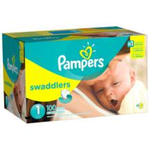 Pampers Swaddlers Diapers Super PackSize 1