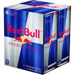 Red Bull With Taurine Energy Drink 4 Ct/48 Fl Oz