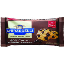 Ghirardelli Chocolate 60% Cacao Bittersweet Chocolate Baking Chips