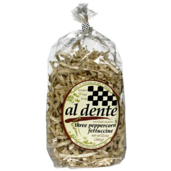 Al Dente Three Pepper Fettuccine Noodles