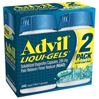 Advil Ibuprofen Liquid Gels