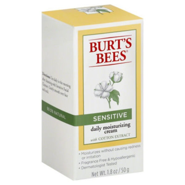 Burt's Bees Daily Moisturizing Cream Sensitive
