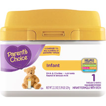Parent's Choice Tub Powder Formula
