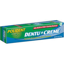 Polident Triple Mint Dentu-Creme Denture Cleanser Paste