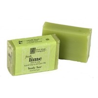 River Soap Company Lime Soap Bar
