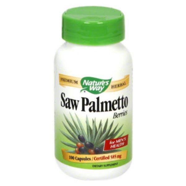 Nature's Way Saw Palmetto Berries - 100 CT