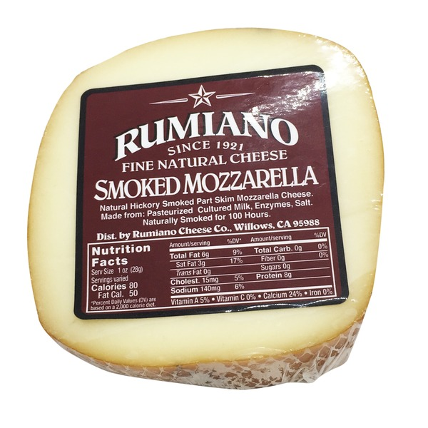 Rumiano Cheese Co. Smoked Mozzarella