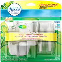 Febreze NOTICEables Gain Original Scent Scented Oil Refill and Oil Warmer