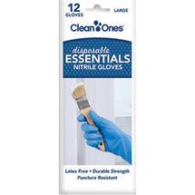 Clean Ones Essentials Disposable Nitrile Gloves