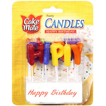 Cake Mate Happy Birthday Party Candles