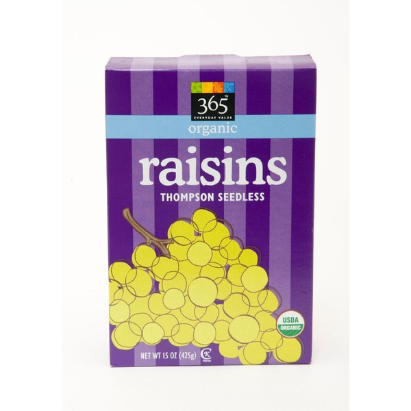 365 Organic Thompson Seedless Raisins