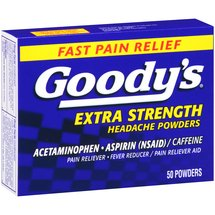 Goody's Acetaminophen Aspirin Extra Strength Headache Powders