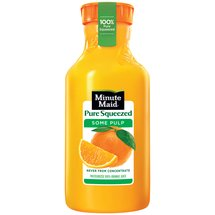 Minute Maid Pure Squeezed Some Pulp Orange Juice