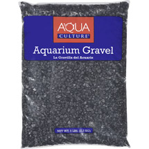 Aqua Culture Black Chips Aquarium Gravel