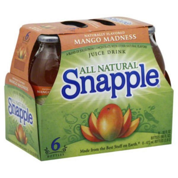 Snapple Mango Madness Regular Juice Drink
