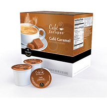 Cafe Escapes Cafe Caramel K-Cups Coffee