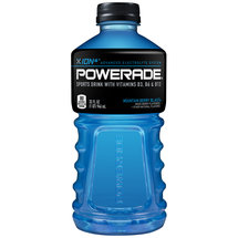 Powerade Mountain Blast Liquid Hydration + Energy Sports Drink 32 Fl Oz