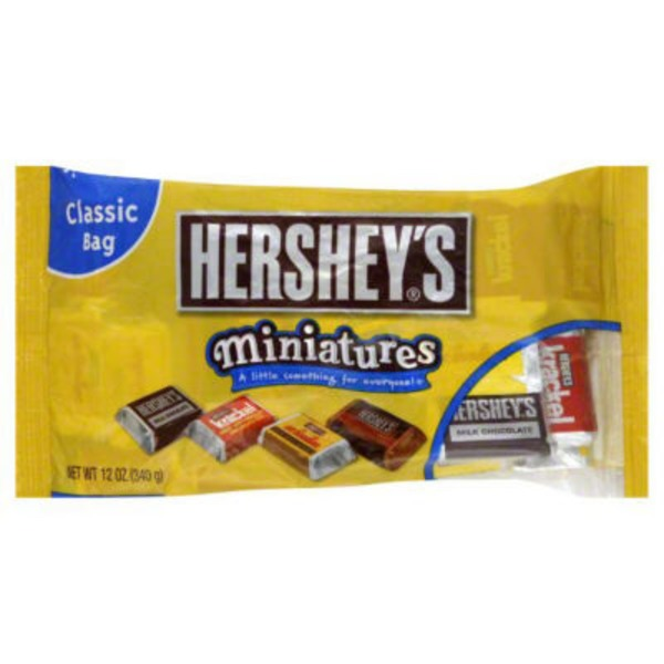 Hershey Miniatures Assortment Candy Bars