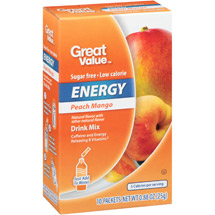 Great Value Peach Mango Energy Drink Mix