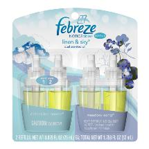 Febreze NOTICEables Linen & Sky Air Freshener Refill (2 Count; .879 Fl oz each)