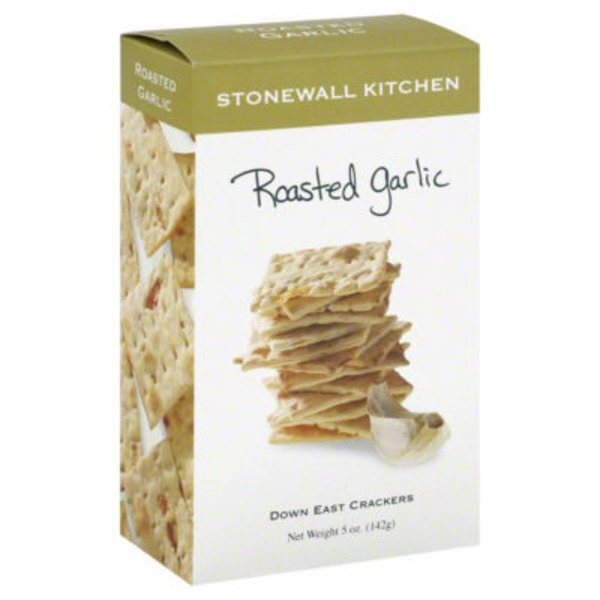 Stonewall Kitchen Down East Roasted Garlic Crackers