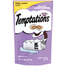 Temptations Creamy Dairy Flavour Treats For Cats