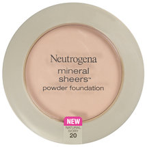 Neutrogena Mineral Sheers Compact Powder Foundation SPF 20 Natural Ivory 20