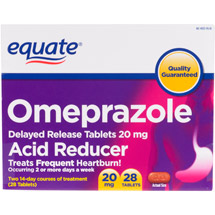 Equate Acid Reducer Delayed Release Tablets Omeprazole