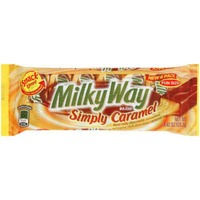 Milky Way Candy Bars, Simply Caramel, Fun Size, Snack Time Pack