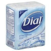 Dial Bar Spring Water Antibacterial Deodorant Soap