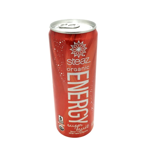Steaz Organic Super Fruit Energy Drink