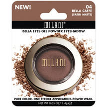 Milani Bella Eyes Gel Powder Eyeshadow 04 Bella Caffe Satin Matte
