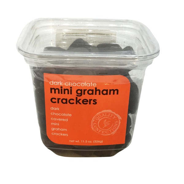 Nassau Candy Dark Chocolate Mini Graham Crackers