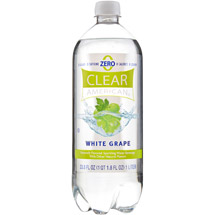 Clear American White Grape Sparkling Water