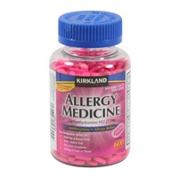 Kirkland Signature Allergy Medicine Mini Tabs