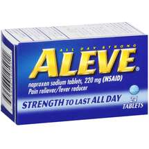 Aleve Tablets Pain Reliever/Fever Reducer
