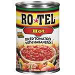 Ro*Tel Hot Diced Tomatoes With Habaneros