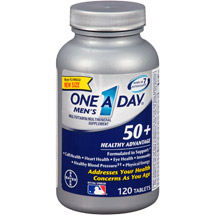 One A Day Men's 50  Healthy Advantage Multivitamin/Multimineral Supplement Tablets