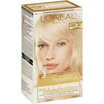L'Oreal Paris Preference Extra Light Ash Blonde LB-01 Haircolor