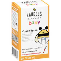 Zarabee's Naturals Cough Syrup