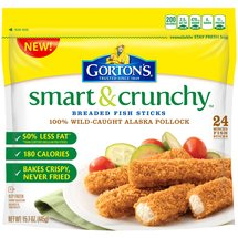 Gorton's Smart & Crunchy Breaded Fish Sticks