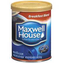 Maxwell House Breakfast Blend Mild Roast Ground Coffee