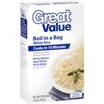 Great Value Boil In A Bag White Rice