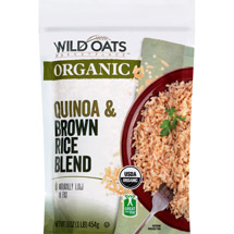 Wild Oat Organic Quinoa & Brown Rice Blend