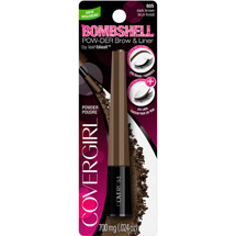 CoverGirl Bombshell by LashBlast Pow-der Brow & Liner 805 Dark Brown