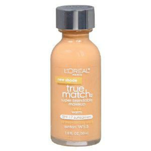 True Match Warm Sun Tan W5.5 Superblendable Makeup