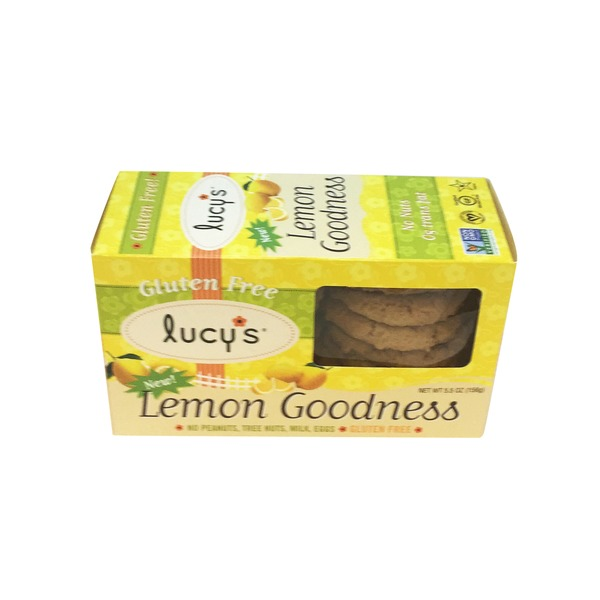 Lucy's Gluten Free Lemon Goodness